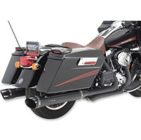Python Rayzer Black Slip-On Mufflers