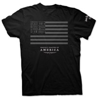 Jack Daniel's Jack & Stripes Men's Black T-Shirt