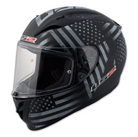 LS2 Arrow Old Glory Black Full Face Helmet