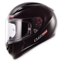 LS2 Arrow Gloss Black Full Face Helmet