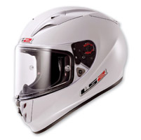 LS2 Arrow White Full Face Helmet