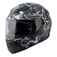 LS2 Stream Veteran 2 Black Camo Full Face Helmet