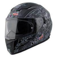 LS2 Stream Anti-Hero Black Full Face Helmet