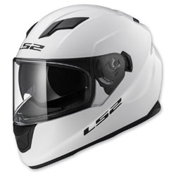 LS2 Stream White Full Face Helmet