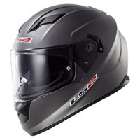 LS2 Stream Silver Full Face Helmet