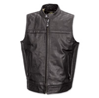 Roland Sands Design Colt Men's Black Leather Vest