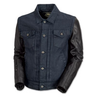 Roland Sands Design Honcho Men's Denim/Leather Jacket