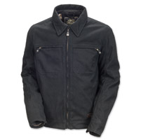 Roland Sands Design Cassidy Men's Black Canvas Jacket