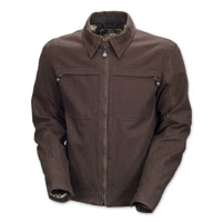 Roland Sands Design Cassidy Men's Tobacco Canvas Jacket