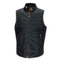 Roland Sands Design Ringo Men's Black Waxed Cotton Vest