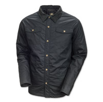 Roland Sands Design Brisco Men's Black Overshirt