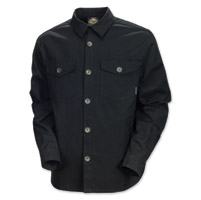 Roland Sands Design Newcombe Men's Black Canvas Jacket