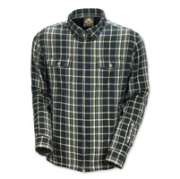 Roland Sands Design Maverick Men's Black Plaid Shirt