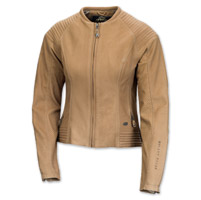 Roland Sands Design Quinn Women's Tan Leather Jacket