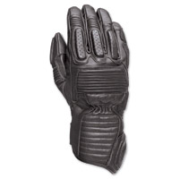 Roland Sands Design Ace Men's Black Leather Gloves