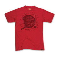 Roland Sands Design Lucky Men's Red T-Shirt