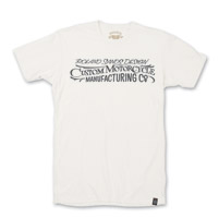 Roland Sands Design Custom MC Men's White T-Shirt