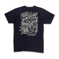 Roland Sands Design Head Down Men's Black T-Shirt