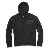 Roland Sands Design Bolt Men's Black Full Zip Hoodie