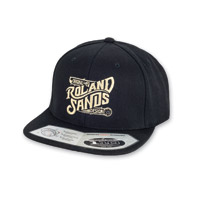 Roland Sands Design OG Black Cap