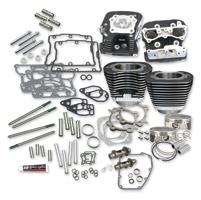 S&S Cycle Wrinkle Black 106″ Hot Set Up Kit