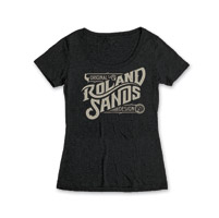 Roland Sands Design Original Design Women's Black Scoop Neck T-Shirt