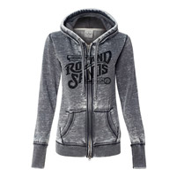 Roland Sands Design Women's OG Black/Grey Full Zip Hoodie