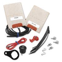 Heat Demon External Handlebar Warmer Kit with Round Switch