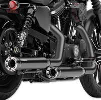 Cobra RPT Black Slip On Mufflers