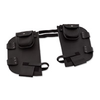 Hopnel Black Classic Pac-A-Derms with Pouch