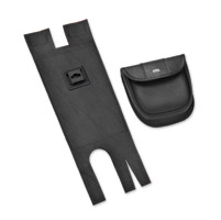 Hopnel Black Classic Left Saddlebag Pouch