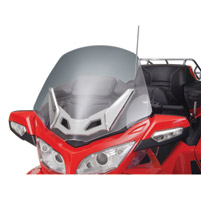 Show Chrome Accessories Clear Windshield