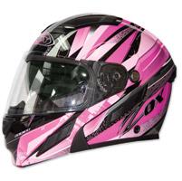 Zox Brigade SVS Voyager Pink Modular Helmet