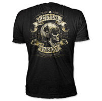 Lethal Threat Road to Ruin Men's Black T-Shirt