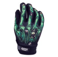 Lethal Threat Men's Zombie Hand Black Garage Gloves