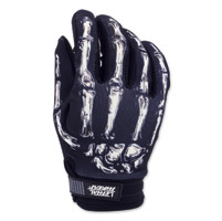 Lethal Threat Men's Bone Hand Black Garage Gloves
