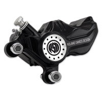 Roland Sands Design Contrast Cut Rear Caliper and Bracket