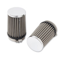Arlen Ness Twin Sucker Air Cleaner Replacement Filters