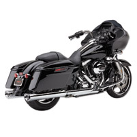 Cobra Tri-Oval II Slip On Mufflers Chrome
