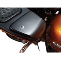 eGlide Goodies Chrome Upper Fairing Glove Box Door Lock Kit
