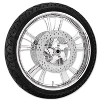 Xtreme Machine Cruise Chrome Front Wheel Package, 21