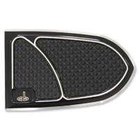 Carl Brouhard Designs Black Elite Brake Pedal Cover