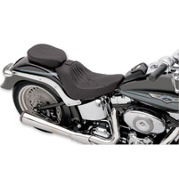Drag Specialties Wide Flame Stitch Passenger Seat