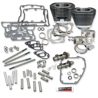 S&S Cycle 106″ Wrinkle Black Hot Set Up Kit