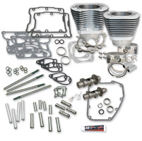S&S Cycle 106″ Silver Hot Set Up Kit