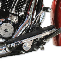 Accutronix Slotted Chrome Brake Arm