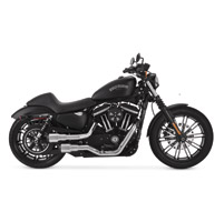 Vance & Hines 2 into 2 Hi Output Grenades Exhaust Chrome with Black End Caps