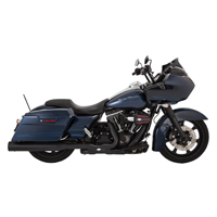 Vance & Hines OverSized 450 Destroyer Exhaust Slip Ons Black, Black End Caps