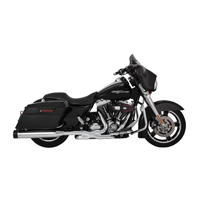 Vance & Hines OverSized 450 Destroyer Exhaust Slip Ons Chrome, Black End Caps