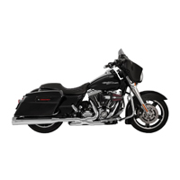 Vance & Hines OverSized 450 Raider Exhaust Slip On Chrome, Chrome End Caps